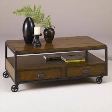 coffee table vintage umber storage coffee table with wheels coffee table with wheels pottery barn