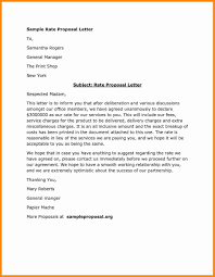 A Proposal Letter Example Of A Proposal Letter Best Of 24 How To Write Proposal Letter 4