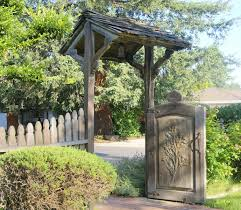 Kitchen Garden Fence Custom Gates And Fences Custommadecom