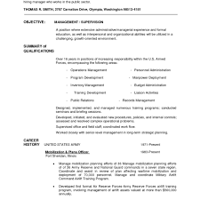 Military To Civilian Conversion Sample Resume For Logistics After inside Convert  Military Experience To Civilian Resume
