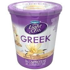 dannon light and fit greek yogurt nutrition label get ations light fit vanilla nonfat yogurt oz