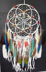 Purpose Of Dream Catchers RESERVED for joniboals100 Authentic Native American Seed Of Life 2