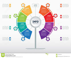 Images Of Web Chart Web Template Of Service Tree Info Chart Or Diagram Vector