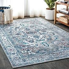 teal and grey rug y modern vintage medallion light grey light pink distressed area rug teal