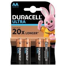 <b>Батарейки AA</b> Duracell – стандартного или аккумуляторного типа