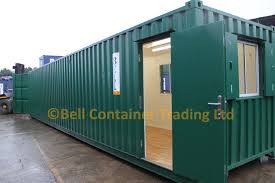 convert shed to office. 40ft Shipping Container Converted Into An Office And Workshop \u2013 Bespoke Unit Convert Shed To