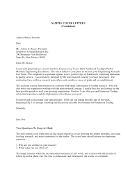 Unsolicited Cover Letter Sample All About Letter Examples