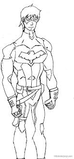 nightwing coloring pages lego pagesluetta mulierchile young