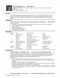100 Resume Key Skills Examples Advice About Writing An