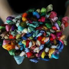 Cotton Floche Embroidery Threads For Sale Ebay