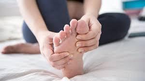 Crusty feet