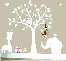 nursery stickers for walls jungle wall stickers baby bedroom wall art wall art stickers for bedroom