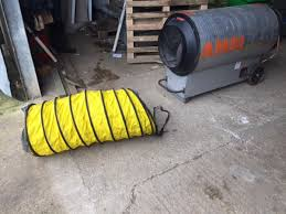 Heater Ducting Secondhand Plant Tools And Equipment Heating Ambirad Tornado