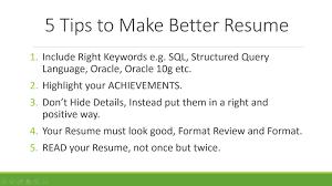 Resume Writing Video Tutorial Free Sample Resumes Resume Writing Tips  Writing A What To Write In