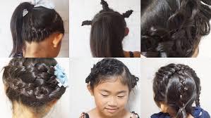 子どもの簡単ヘアアレンジは基本の三つ編編み込みをフル活用