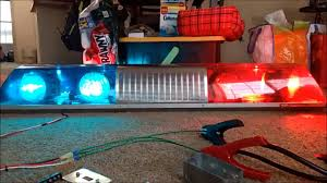 Signal Stat Light Bar Signal Stat Dualcomm Lightbar Youtube