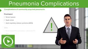 Image result for complications of pneumonia