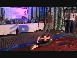 yoga dance by a indian in a peion