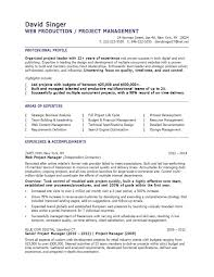 Front End Developer Resume Sample Simple Front End Developer Sample