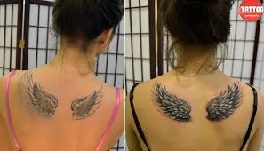 татушки крылья