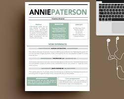 Modern Creative Resume Layout Templates Creative Resume Word Okl