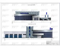 Скачать бесплатно дипломный проект ПГС Диплом № Здание  Фасады Внимание данный лист в формате ipg jpg
