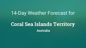 Hamilton island weather forecast updates on today's temperature and bush fire or weather warnings in effect with hourly, daily and 7 day predictions. Coral Sea Islands Territory Australia 14 Day Weather Forecast