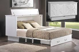 this murphy bed folds down into a