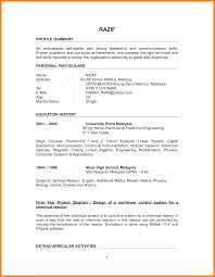 4 Resume Objective Sample For Fresh Graduate Forklift Resume