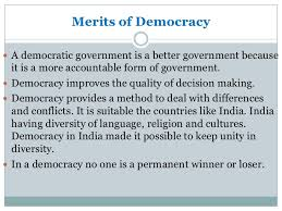 what is democracy and why democracy 10 iuml130151 democracy is better than other forms of government