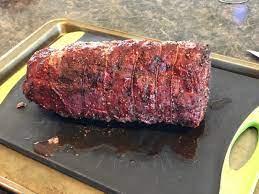 smoked beef tenderloin recipe