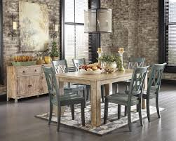 Ashley Furniture Kitchen Chairs Signature Design By Ashley Mestler Driftwood Finish Rectangular