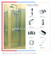 frameless shower door hardware shower door handles images doors design modern frameless shower door hardware black