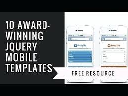 Bolt Mobile Website Jquery Template Free Portfolio Templates