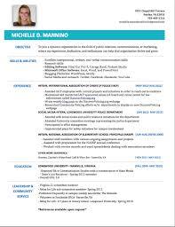 Dazzling My Resume Com Stylist Design Michelle Mannino S E Portfolio