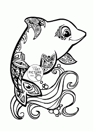 Small Picture Summer Animals Coloring Page For Kids Seasons Pages Printables