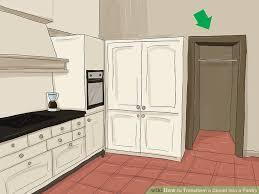 image titled transform a closet into a pantry step 1