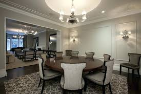 expandable round dining room tables expandable round dining table dining room contemporary with area rug chandelier chandelier shades crown molding