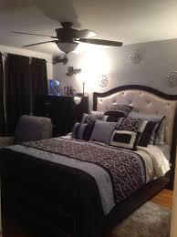 Marilyn 6 Piece Queen Bedroom Set Ebony American Signature