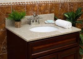 wheat granite vanity top 4 in spread