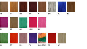 Freetress Braiding Hair Color Chart Freetress Color Charts