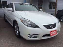 Used 2008 Toyota Camry Solara Low KM 121K 4 Cyl. Leather Alloys ...