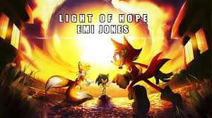 Light Of Hope Sonic Forces Sonic Forces Light Of Hope Cover By Emi Jones Ft Genna