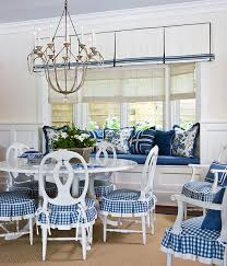 blue and white furniture. Comfy Dining Area In Blue And White Patterns Blue White Furniture