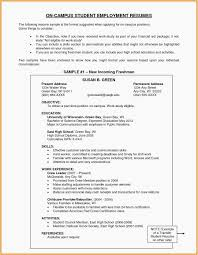 High School Resume Sample Luxury High School Graduate Resume Fresh ...