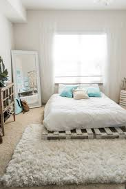 Bed Frame Made Of Pallets And Lights 20 Best Diy Pallet Bed Frame Ideas To Update Your Bedroom In