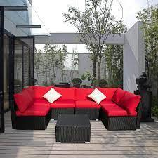 ainfox sofa cushion covers for 7 pieces