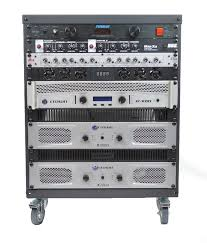 properly cooled amp rack front