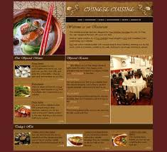 Best Free Website Templates Beauteous Restaurant Website Templates Awesome Restaurant Websites Free