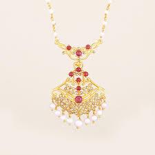 junagadhi art necklace with 1 30 ct rose cut australian diamonds ruby omje68 gemporia